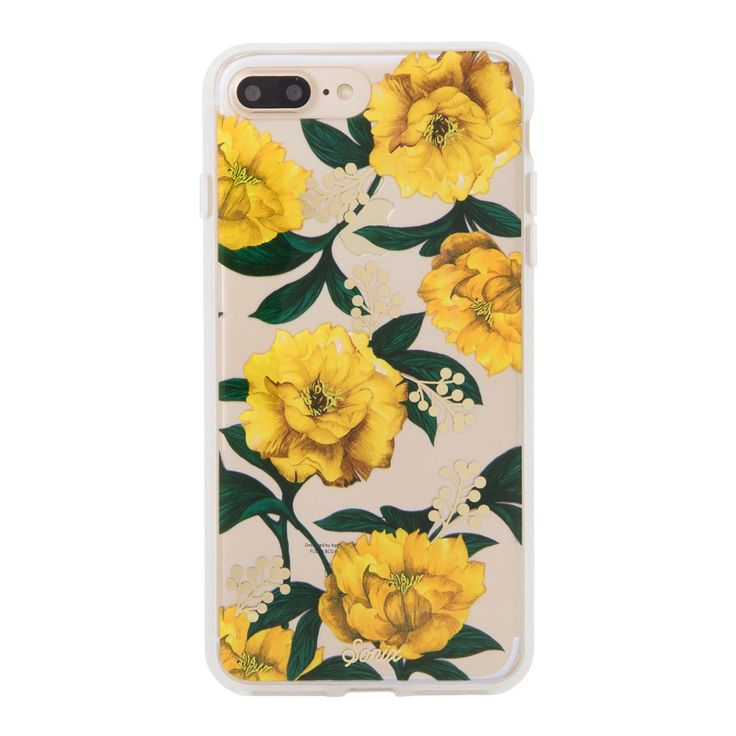 <p> A transparent polycarbonate back with our gold foil design shows off your phone. An impact-resistant bumper protects against dings and scratches. This case is slim and lightweight without sacrificing protection.</p> $35.00
