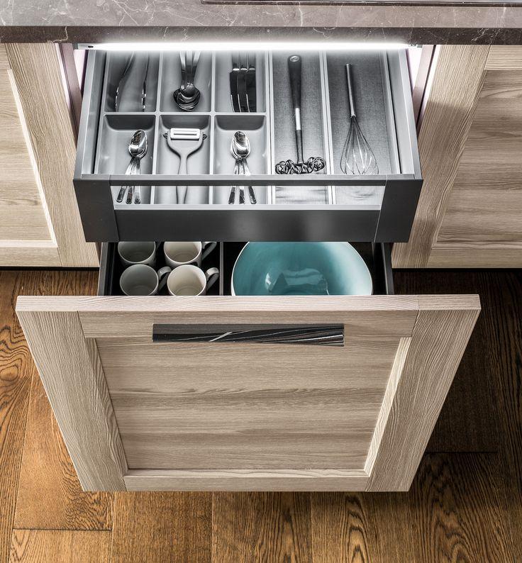 23 best cassetti belli e funzionali per la tua cucina - Cassetti per cucina ...