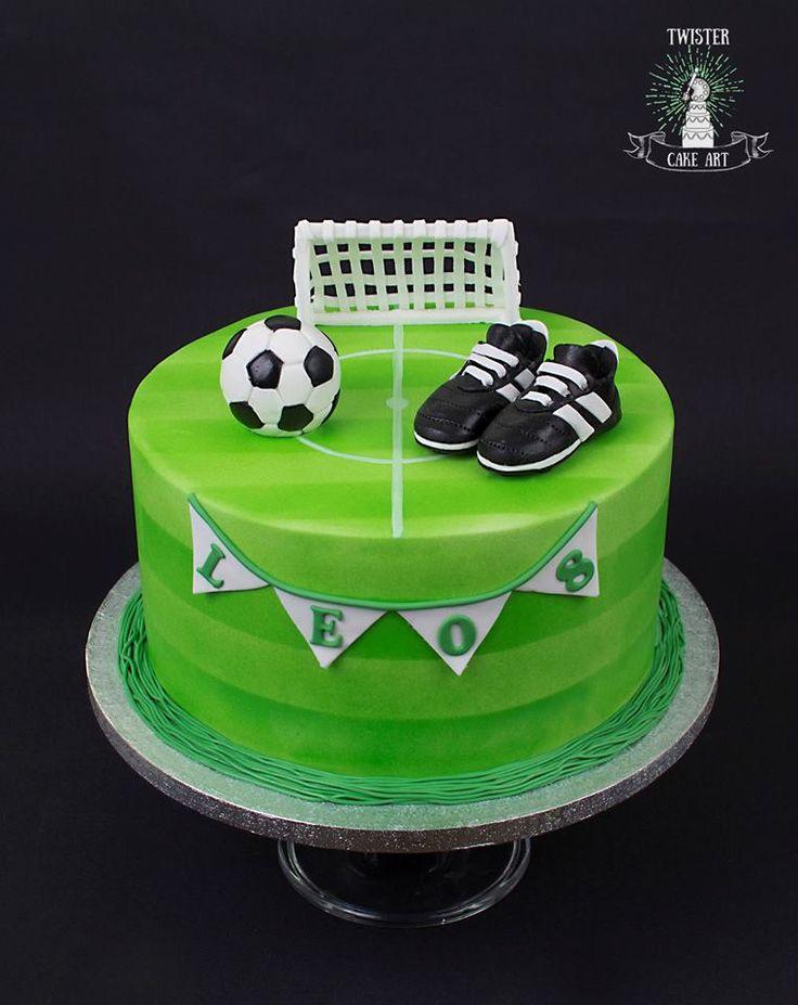Soccer cake, jalkapallo kakku
