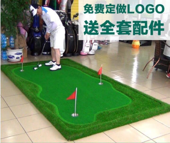 3 메터 x 1 메터 퍼팅 골프 교육 에이즈 미니 골프 운동 담요 골프 액세서리