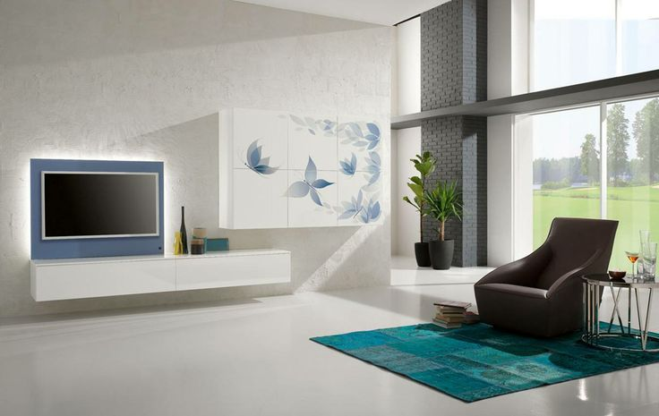 """With IMMAGE born """"Butterflies"""": A flight of fancy, an abstract image in which light butterflies that materialize and with flapping wings seem to come out to us the dream and inspiring serenity ... http://www.spar.it/sp/it/arredamento/living-x44.3sp?cts=giorno_exential"""