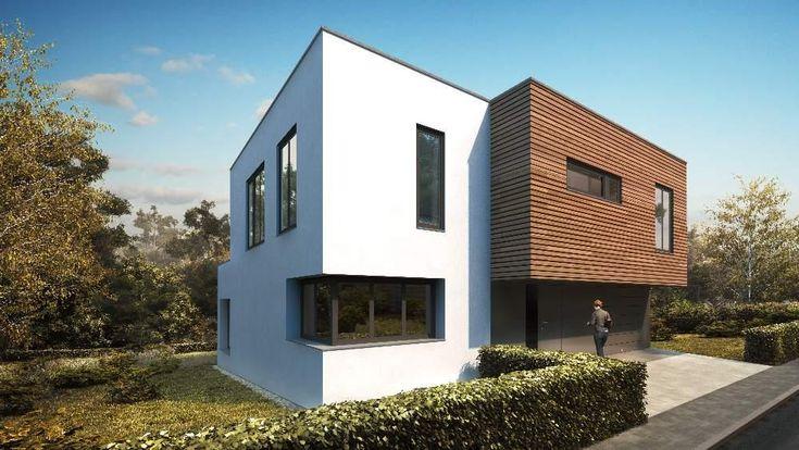 Postavit moderní dům s plochou střechou je zdánlivě jednoduché. Jenže lze velmi rychle zabřednout do nudného obyčejného kvádru, který bude vypadat jako všechny ostatní domy v okolí. Nudně, bez nápadu. Na správné řešení se podíváme na tomto návrhu od Toulec architekti.