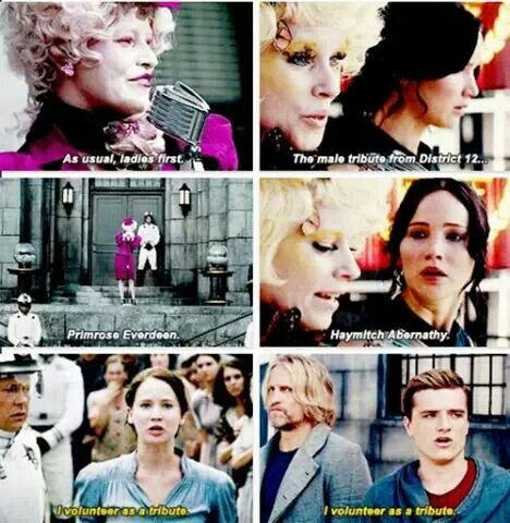 Katniss Everdeen Of The Hunger Games Summary Of The