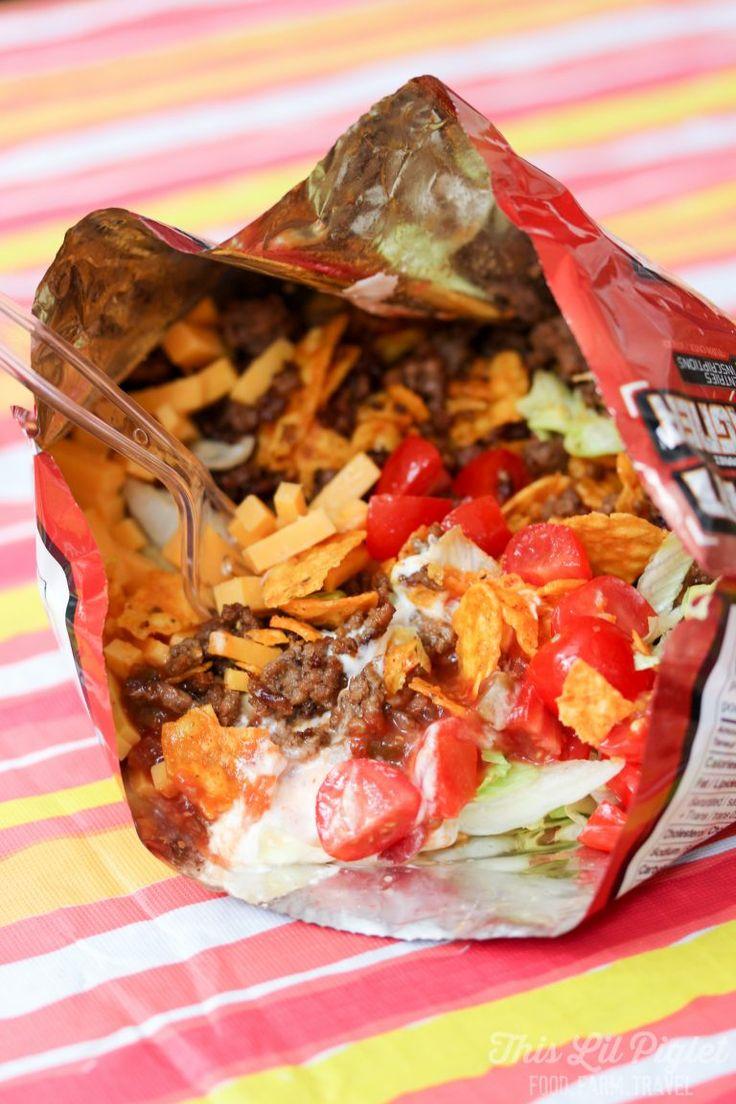 Campfire Taco In A Bag Recipe Camping Campfire Food