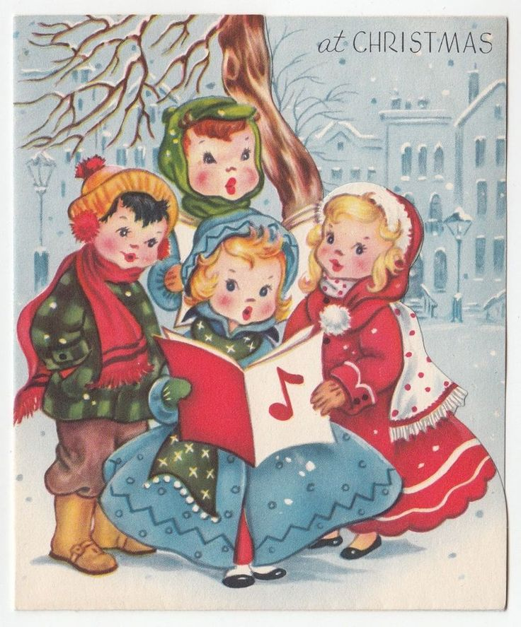 Vintage Wooden Christmas Carolers Set Of 3 Victorian: 1000+ Ideas About Caroler On Pinterest