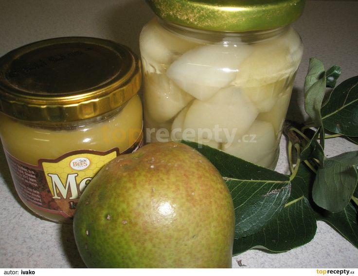 Zavařené hrušky s citrónom recept - TopRecepty.cz