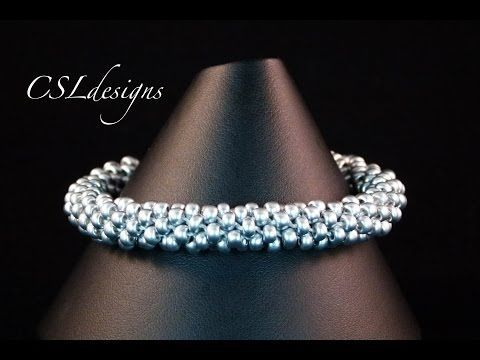 Basic beaded kumihimo braid - YouTube This is one of the best videos on beaded Kumihimo I've found.