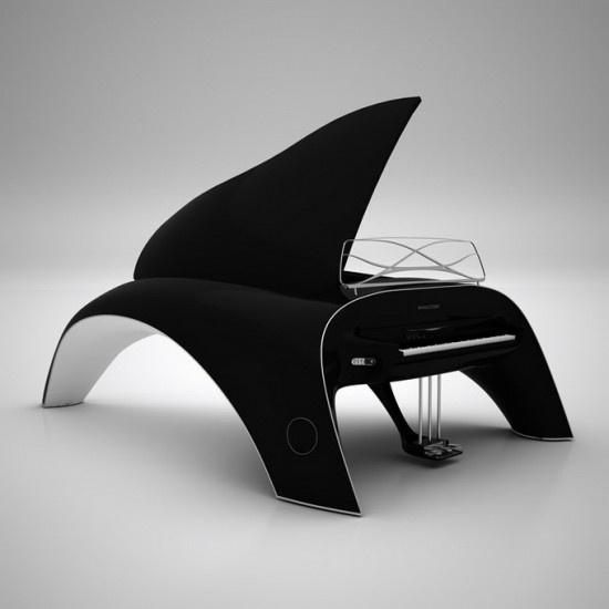 Piano de cola desarrollado por Robert Mazhkut
