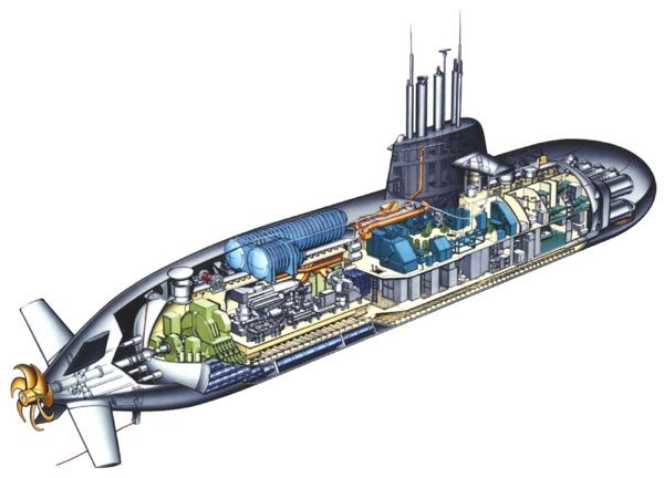 cutaway type 212 submarine cutaways a look inside. Black Bedroom Furniture Sets. Home Design Ideas