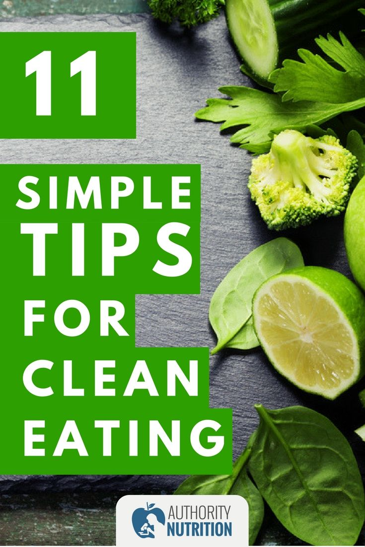 Clean eating is way of eating that focuses on fresh, natural foods. This article explains what clean eating is and shares 11 simple ways clean up your diet: https://authoritynutrition.com/11-ways-to-eat-clean/