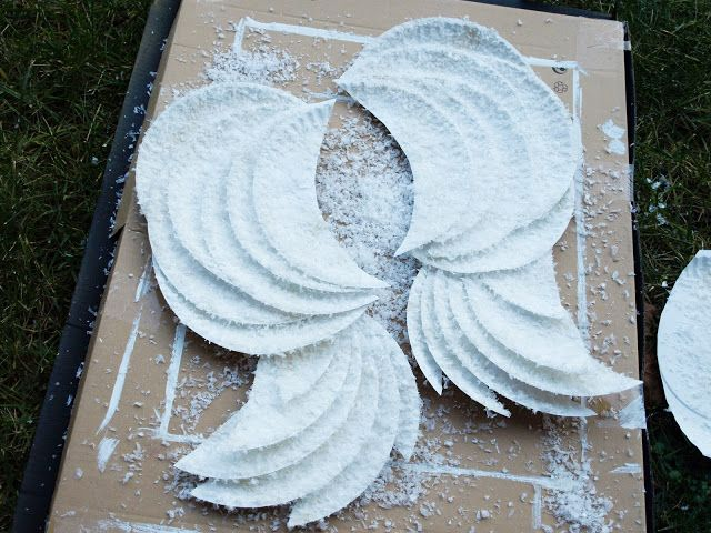 diy angel wings these are decoration but i bet with a lightweight coathanger wire weeping angel costumeangel costumeshalloween - Halloween Costumes Angel Wings