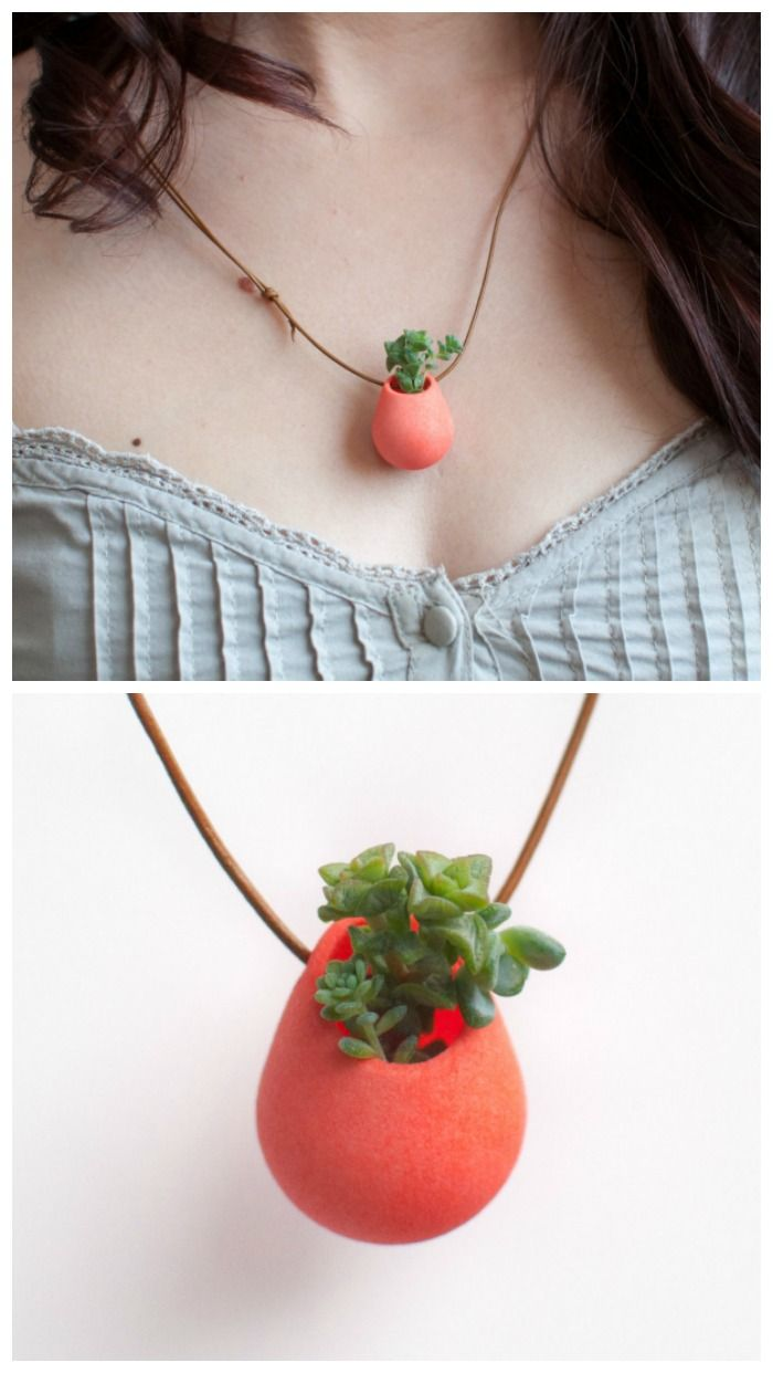 A Wearable Planter.