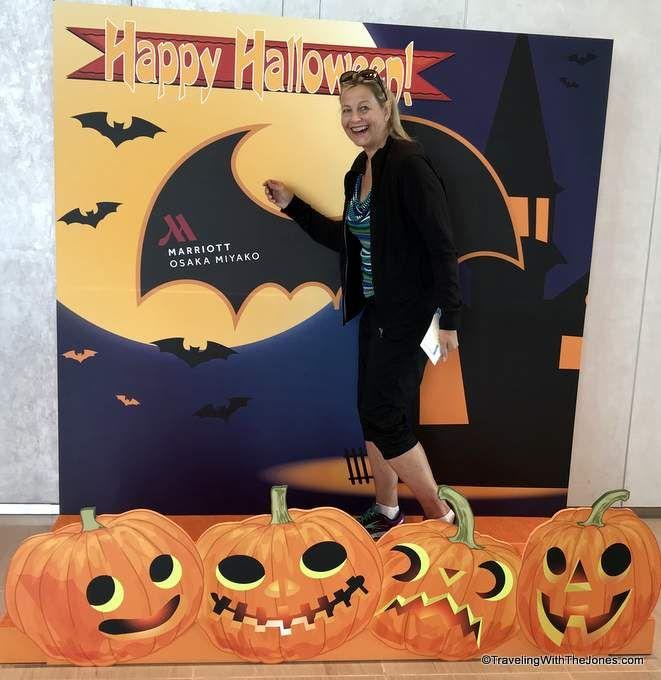 Happy Halloween from the Marriott Osaka Miyako Hotel, Osaka, Japan