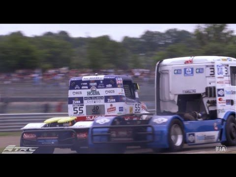 Best of action shots European truck racing Round 1-4