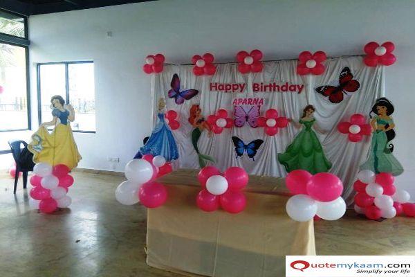 Simple Hall Decoration For Birthday Birthday Party Decorations Birthday Decorations Custom Party