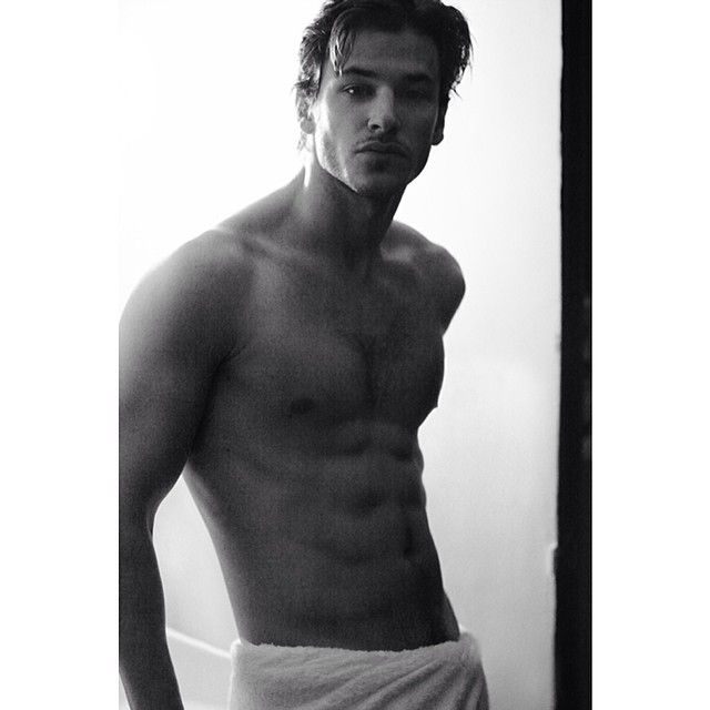 David Gandy, Gaspard Ulliel + More Pose for Mario Testinos Towel Series image GASPARD ULLIEL
