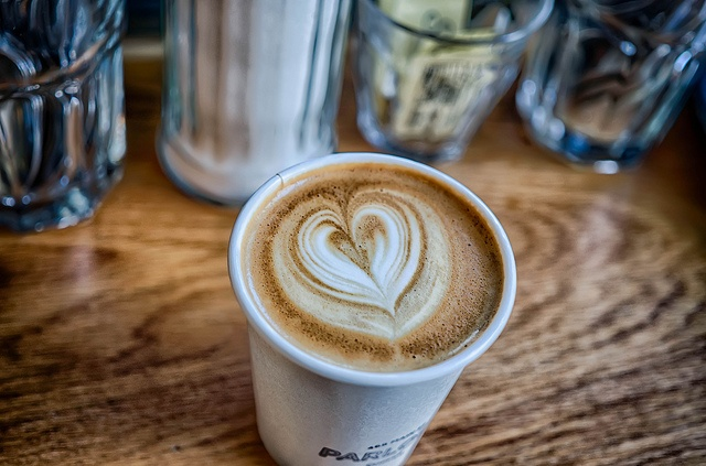 Coffee time at Parlour Coffee in Winnipeg, Manitoba. Photo by Jim.J.H. via…