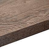38mm B&Q Mountain Timber Square Edge Kitchen Worktop (L)3m (D)600mm | Departments | DIY at B&Q