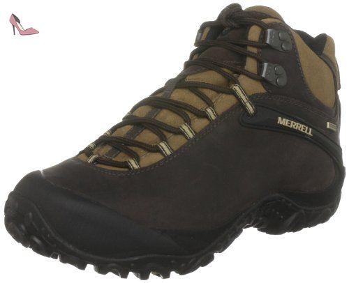 Merrell - Chameleon 4 - Chaussure de randonnée - Homme - Brun (Espresso) - 47 EU - Chaussures merrell (*Partner-Link)