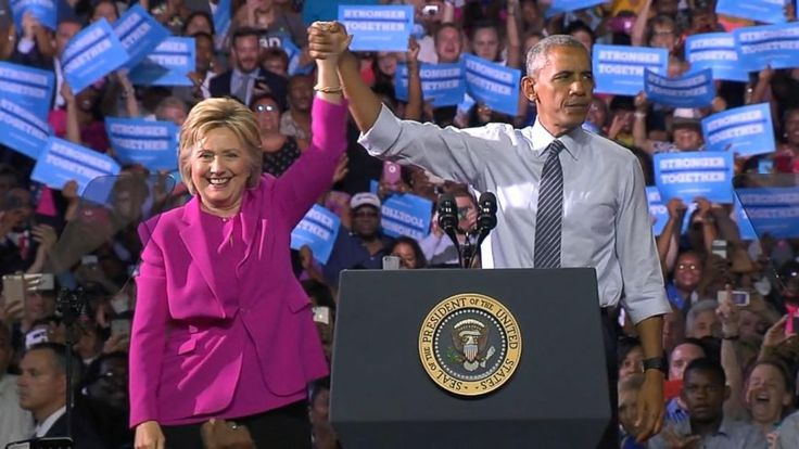 They've been bitter rivals, allies and colleagues. When they take the stage at their first joint campaign appearance on Tuesday, President Barack Obama and Hillary Clinton will show off a new phase in their storied relationship: co-dependents. Clinton's chances of winning the White...