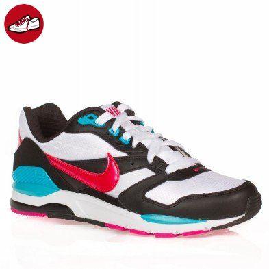 Nike - Nike Twilight Runner gs sneakers Damenschuhe weiss rosa schwarz, Bianco-Nero-Fuxia, 38.5 EU (*Partner-Link)