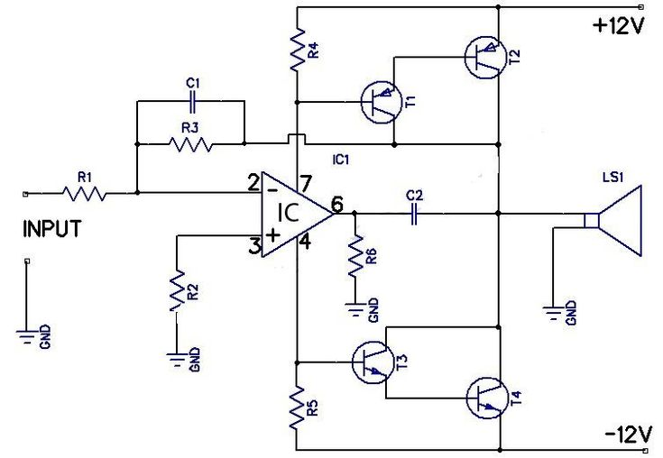 circuitdiagram amplifiercircuit amplifiercircuitsaudio complete