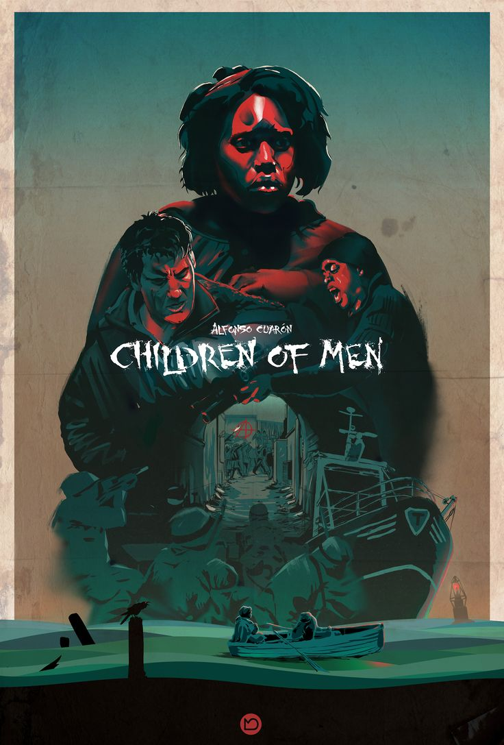 children of men by marcel domke. although dystopia is a washed out topic by now…