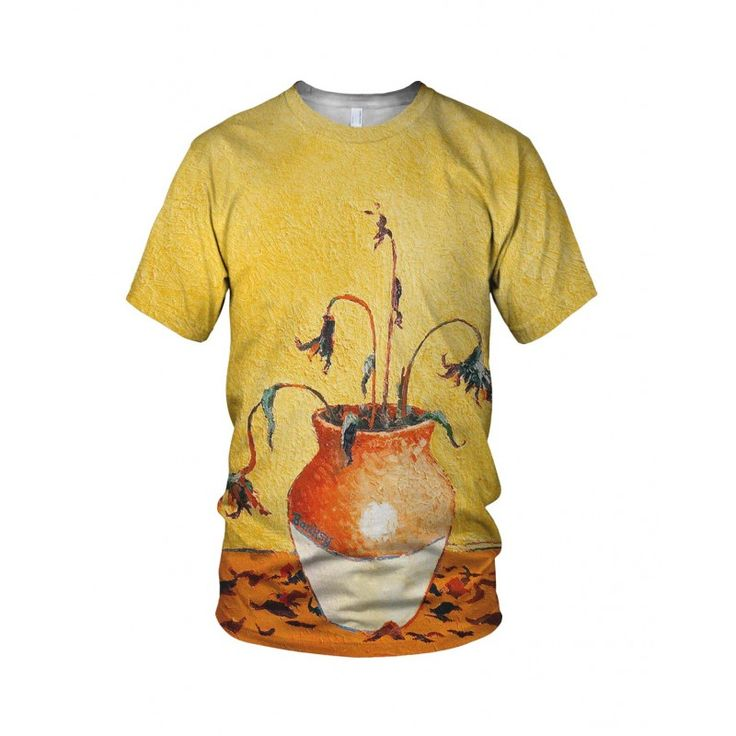 """Sunflower From Petrol Station, from the collection of """"Hand Printed"""" Designs by the prolific street artist known as """"Banksy"""".   More Designs and Styles on the Store: http://www.globalmusicollective.com/store/?product_cat=banksy"""
