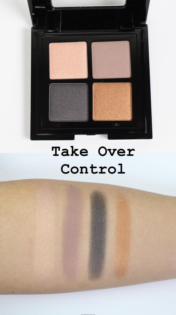 NYX Full Throttle Eyeshadow Palettes swatches