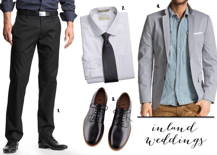 Wedding Guest Attire Men