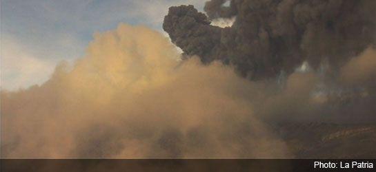 Central Colombia Nevado del Ruiz volcano erupts, authorities on red alert