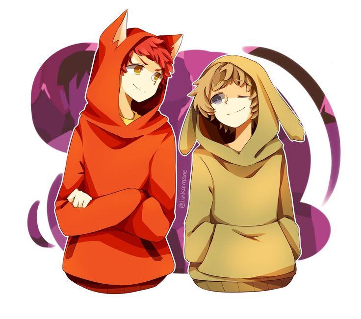 Rojo y Estropajo. <3