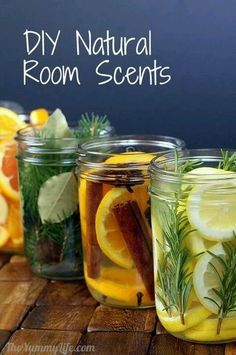 pine or.cedar.twigs, bay leaves. & nutmeg. & vanilla. lemon, rosemary, & vanilla. orange, cinn, & cloves