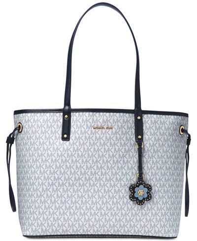 dccfc02a7a88dc MICHAEL Michael Kors Carter Signature Large Reversible Tote   Bags ...