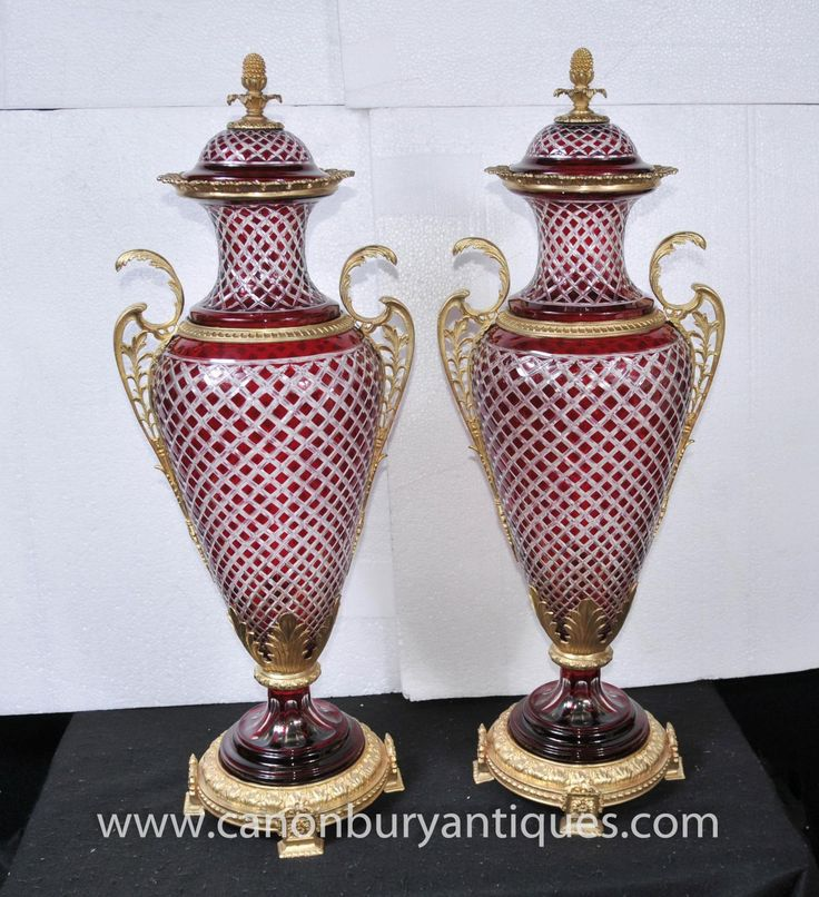 Large Decorative Vases And Urns Cool Vase  One Of A Pair  Christopher Dresser British Glasgow Design Ideas