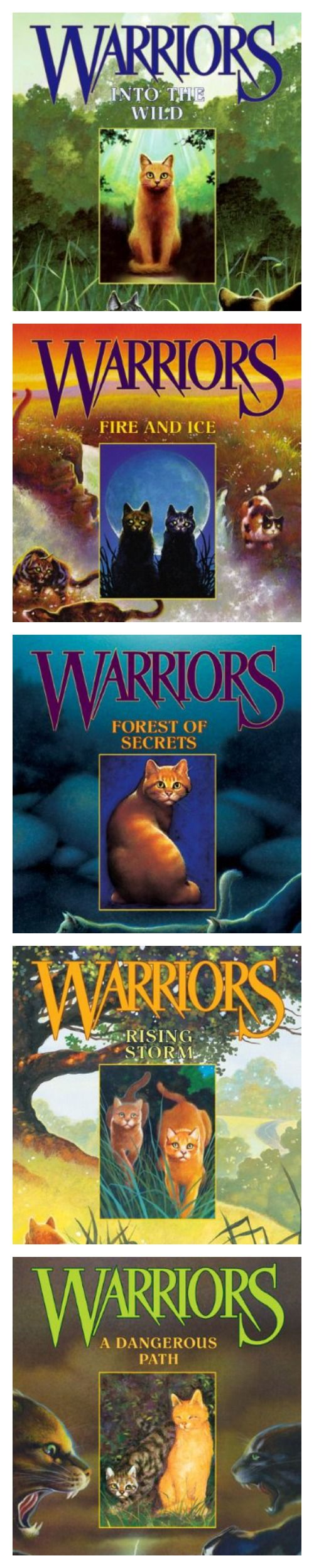 *book Review* My Young Friend Leah Reviews The Warriors Book Series For  Young Readers