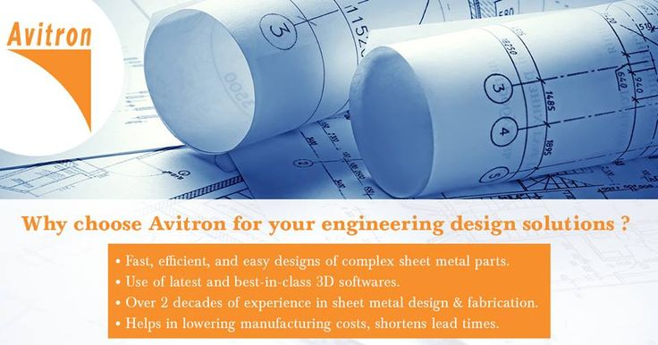 Thanks to our engineering design capabilities, it is possible to design, document, and produce all kinds of sheet metal products in quick time. Our use of the latest 3D design software ensures a product made to absolute perfection- the very first time. For more details contact us Email : info@avitron.in Visit : http://www.avitron.in/