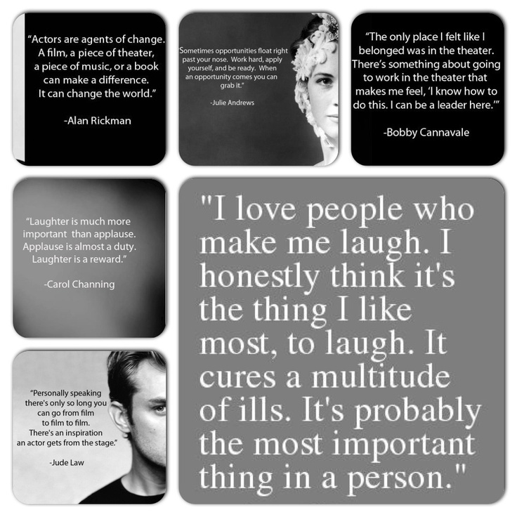 Theater Quotes: 141 Best Images About Theatre Quotes On Pinterest