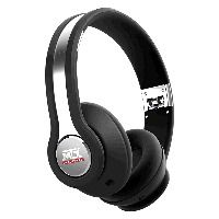 "MTX iX1 On-Ear Headphones (Acoustic Monitors) - Black. Includes no-tangle cord, zippered/hard carrying case, and mic/volume control for iPhones. Can be ""daisy-chained"" with other headphones to share music from one source, iPod, mp3 player, phone, etc..."