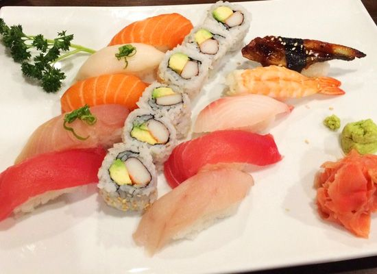 Doesn't matter if your into nigiri, maki, sashimi, or sushi, all can be delivered to your office!  En Asian Bistro & Sushi Bar, Arlington VA