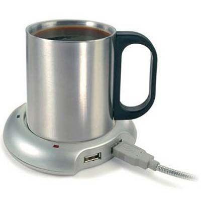 Toh Querendo: Aquecedor de Café USB