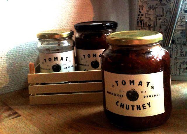 Hjemmelavet tomatchutney - den sad! - HomeWholeMeal | Ren Økologi