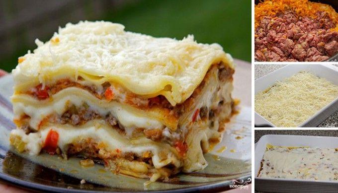 Vynikající lasagne - fotopostup krok za krokem | NejRecept.cz