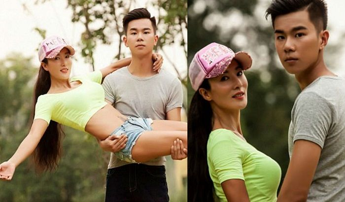 50-Year-Old Mom Looks So Young Everyone Thinks Shes Sons -7377