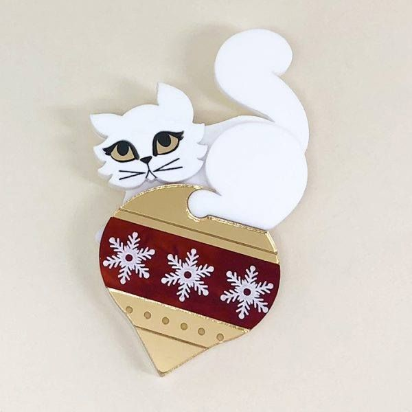 Peppy Chapette Snowy Kitty Christmas
