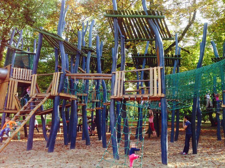 Super Klette und Spielplatz für klein und Groß im Dortmunder Westpark.