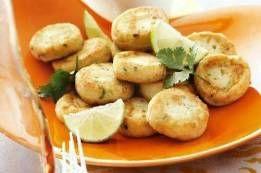 Palets de pommes de terre aux herbes