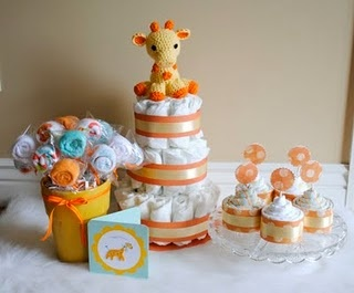 how cute are these baby shower gifts!!! all useable items!