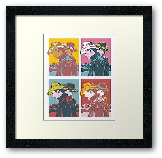 Cowboy Pop Art  by Gay Essential