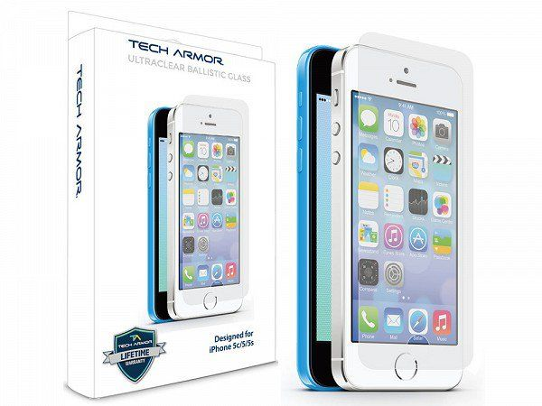 Glass iPhone Screen Protector by Tech Armor